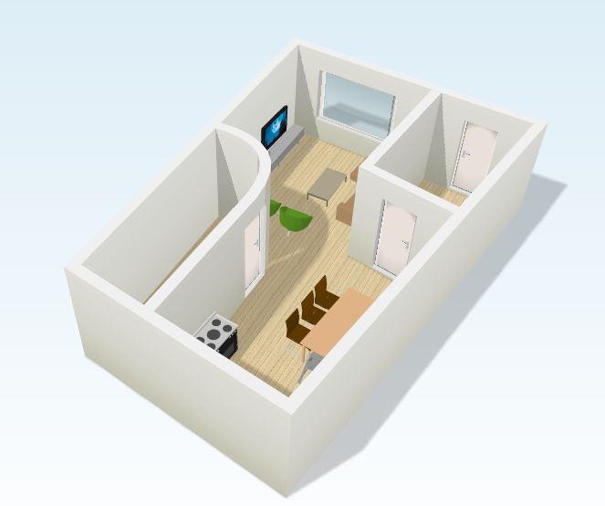 Voorbeeld Plattegrond Woonkamer ~ Beste inspiratie interieur design en ...